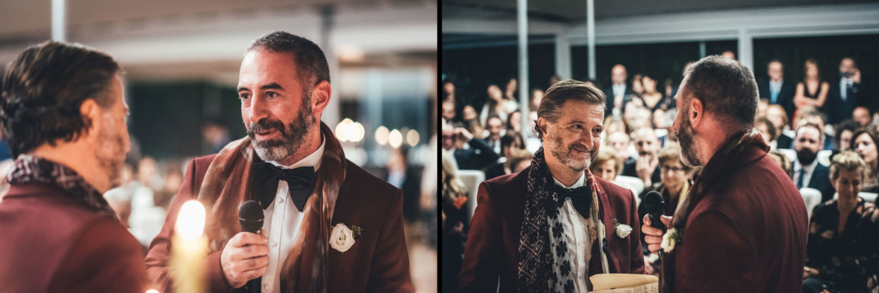 Outstanding Wedding Reportage in Palermo Ceremony in Officine Baronali Tommaso D'Angelo Photographer