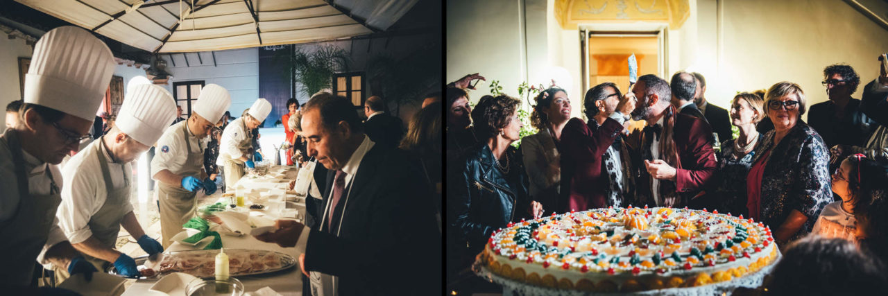 Outstanding Wedding Reportage in Palermo Giuseppe Costa Receipt in Officine Baronali Tommaso D'Angelo Photographer