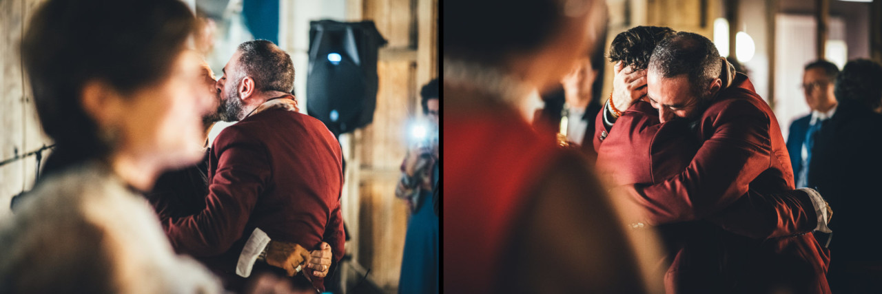 Outstanding Wedding Reportage in Palermo First Dance in Officine Baronali Tommaso D'Angelo Photographer