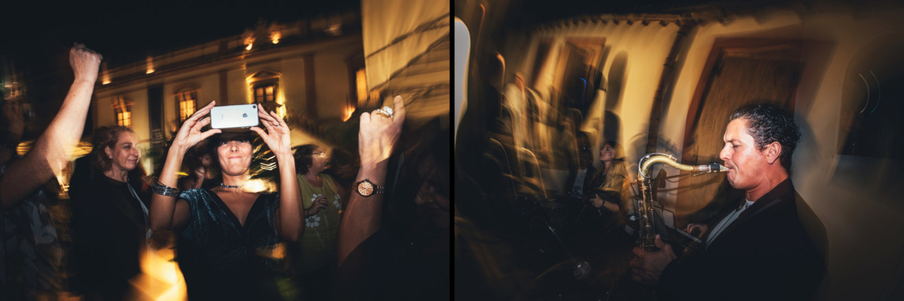 Outstanding Wedding Reportage in Palermo Friends Dance in Officine Baronali Tommaso D'Angelo Photographer