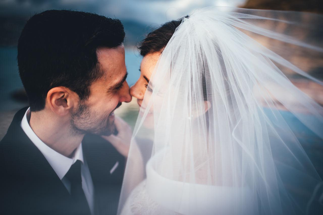 Foto in Primo Piano Sposi a Trappeto - Tommaso D'Angelo Photography