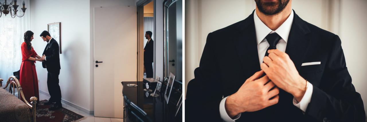A Joyful Wedding Reportage in Alcamo Getting Ready Groom Tommaso D'Angelo Photography