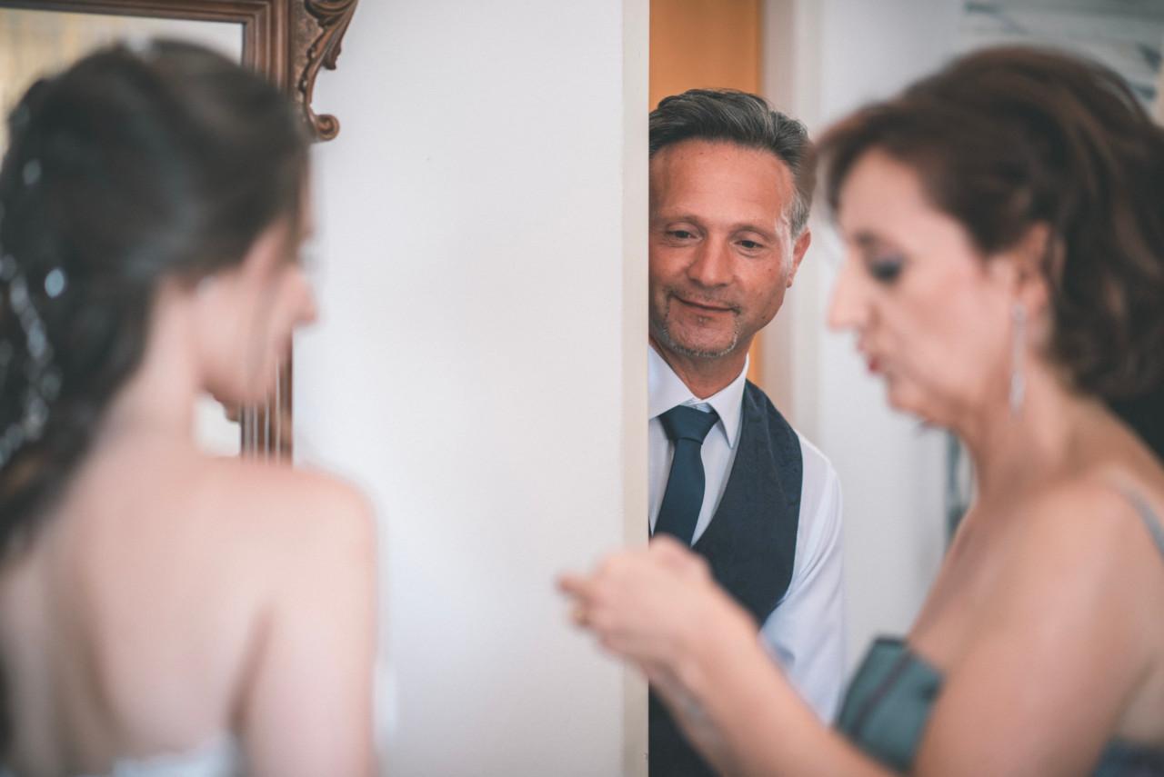 Papà della sposa. Fotografia di Tommaso D'Angelo