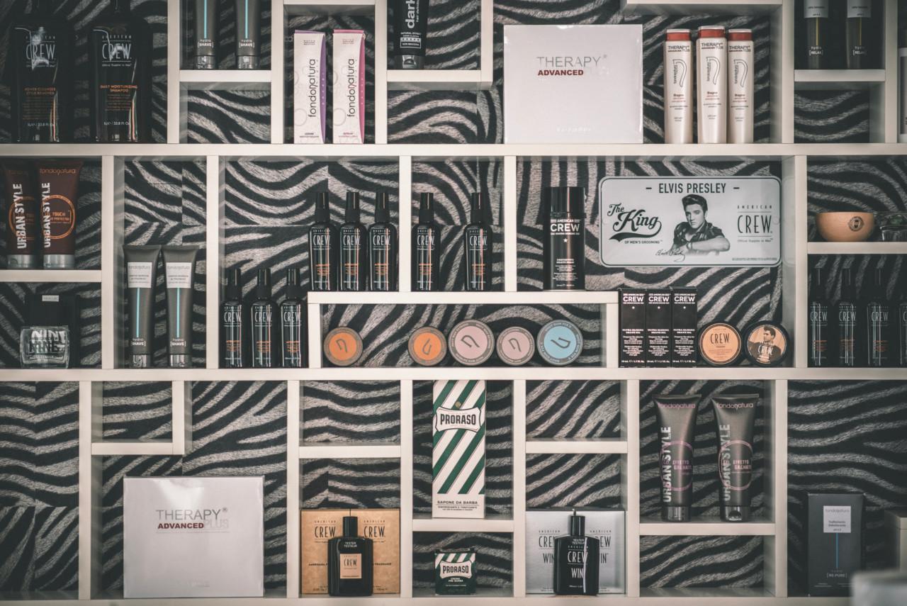 Dettagli salone Parrucchiere dello Sposo. Fotografia di Tommaso D'Angelo