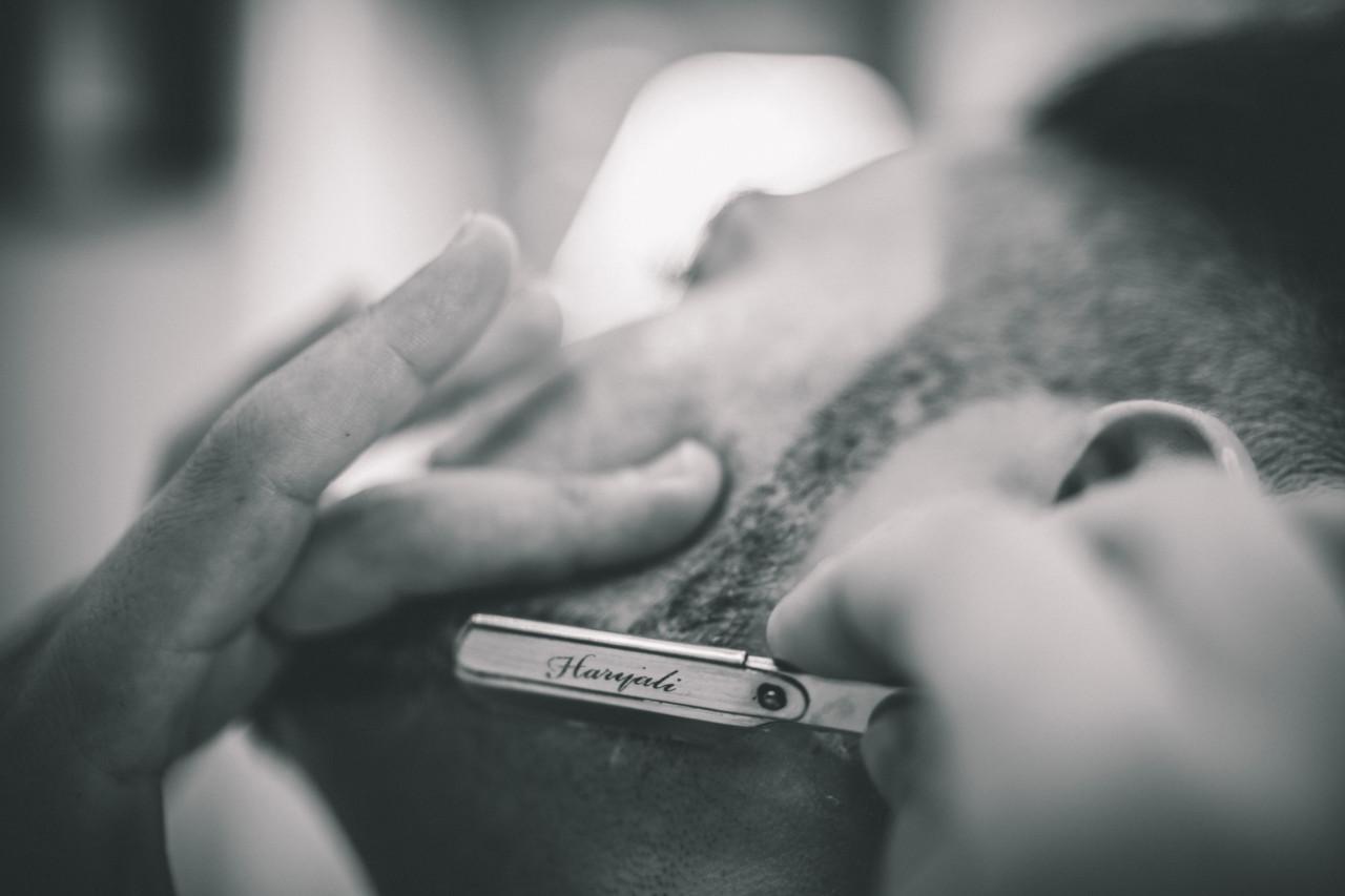 Dettaglio Rasoio da Barba Sposo. Fotografia di Tommaso D'Angelo