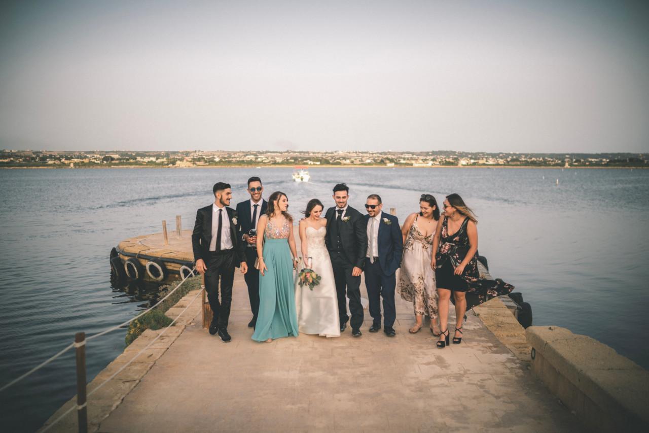 Amici degli Sposi all'Isola di Mozia. Fotografia di Tommaso D'Angelo