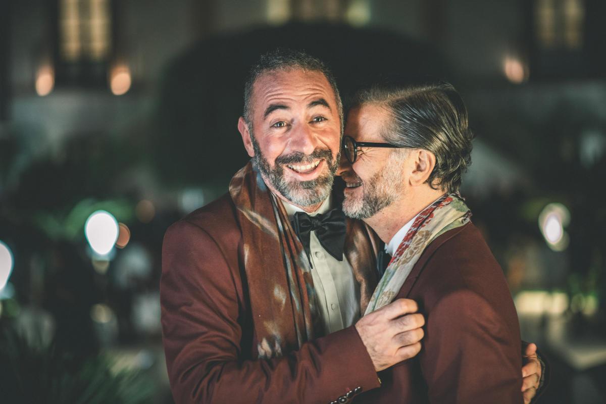Ritratto Coppia Matrimonio Gay a Palermo